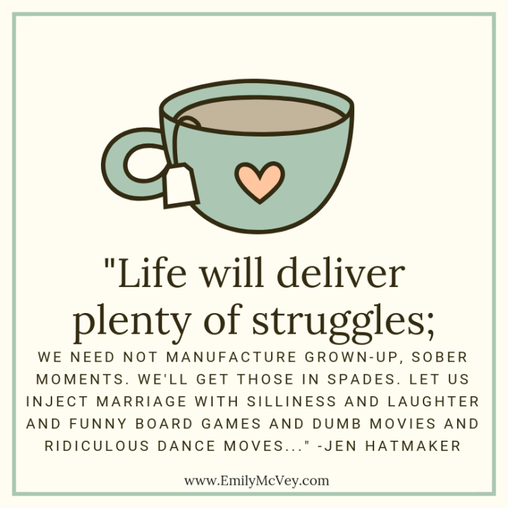 Life will deliver plenty of struggles;