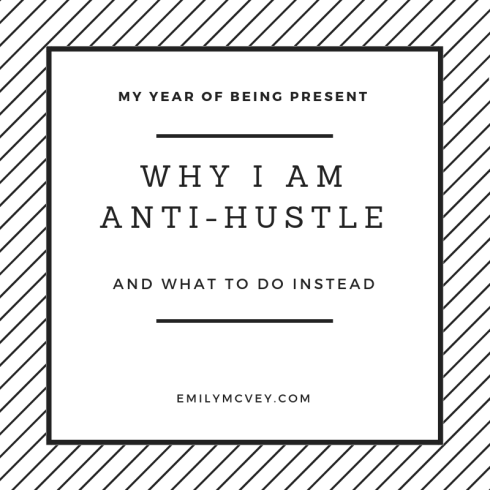 anti hustle
