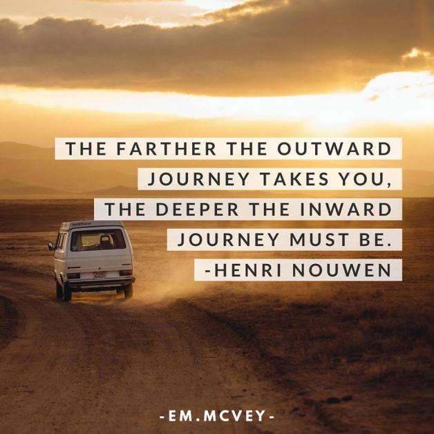 outward journey